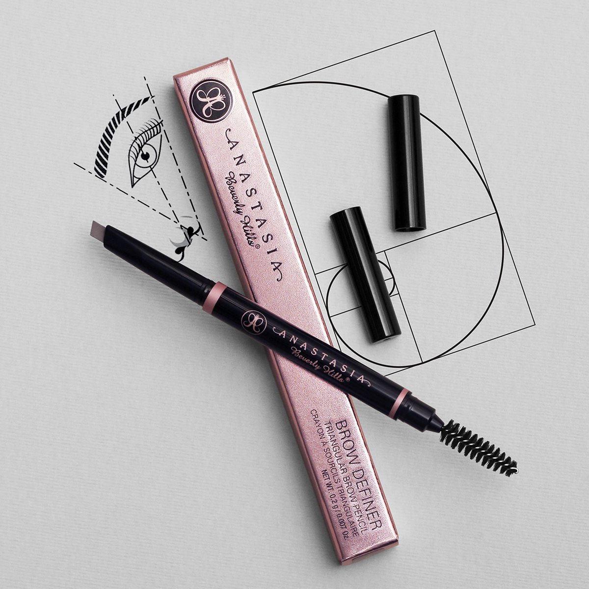Anastasia Beverly Hills Golden Ratio Patent