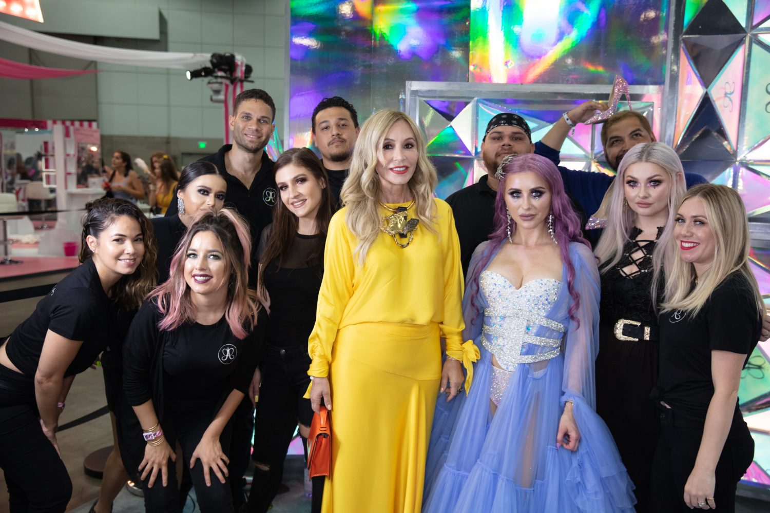 Anastasia and Norvina Beautycon 2018
