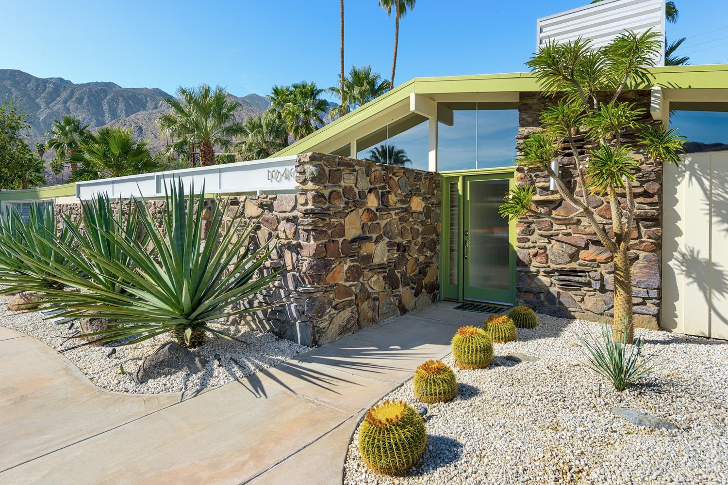 Modernism Week- Green Featured Home