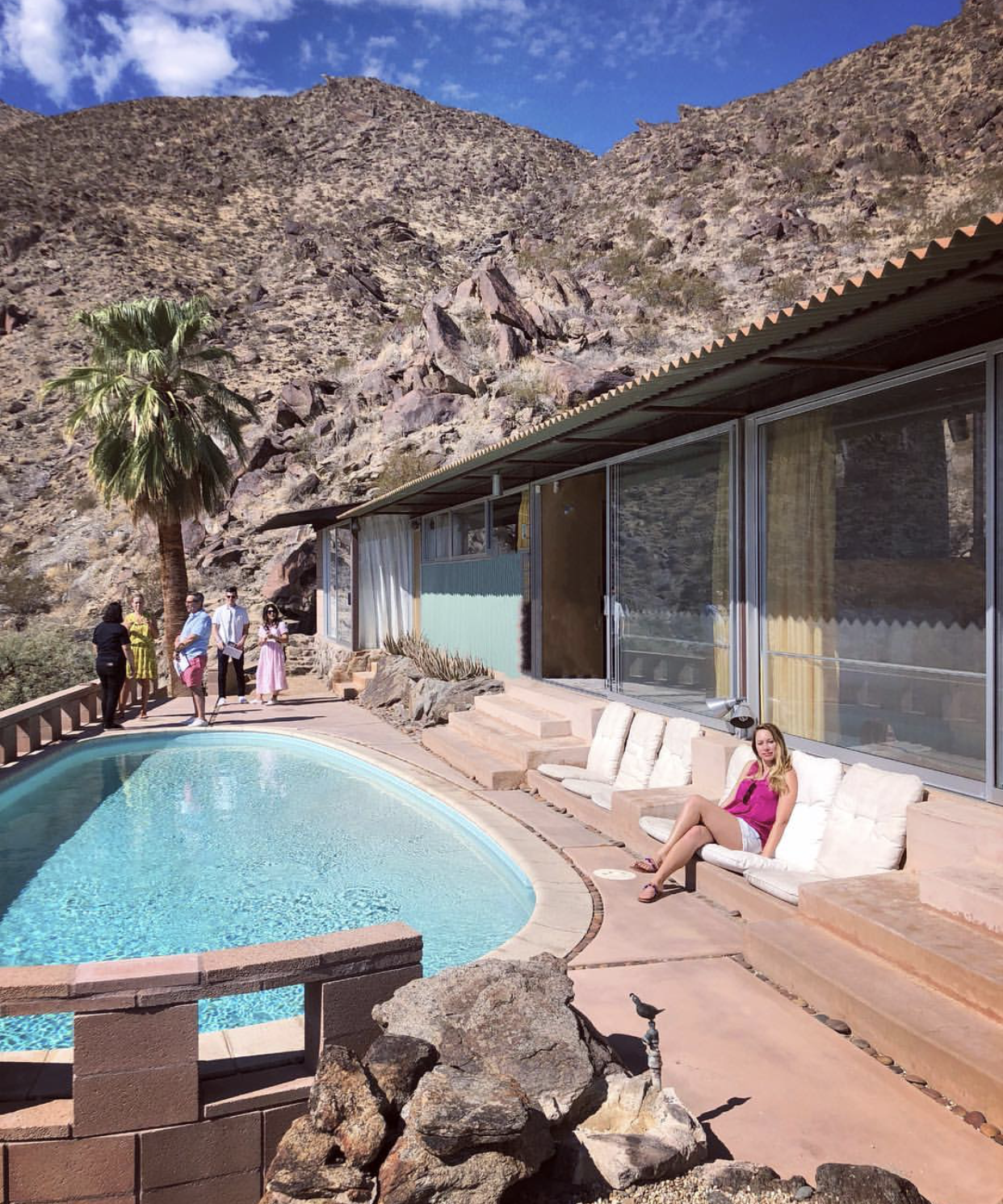 Modernism Week- House with Pool