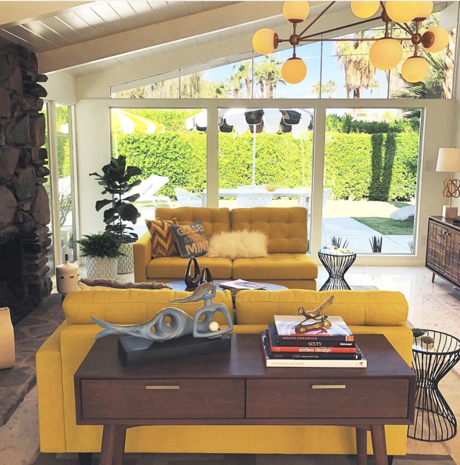 Modernism Week- Yellow Featured Home