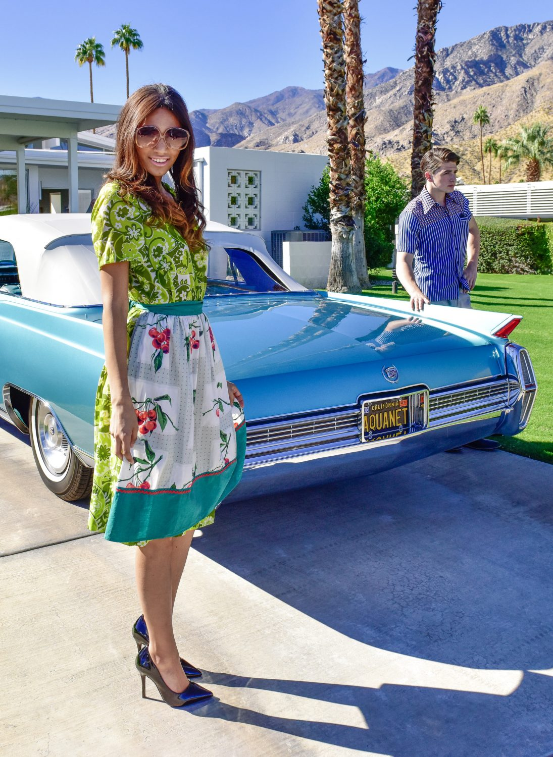 Modernism Week- Retro Look with Car