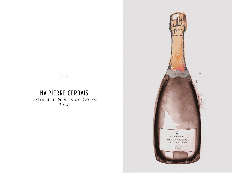 NV Pierre Gerbais Extra Brut Grains de Celles Rosé