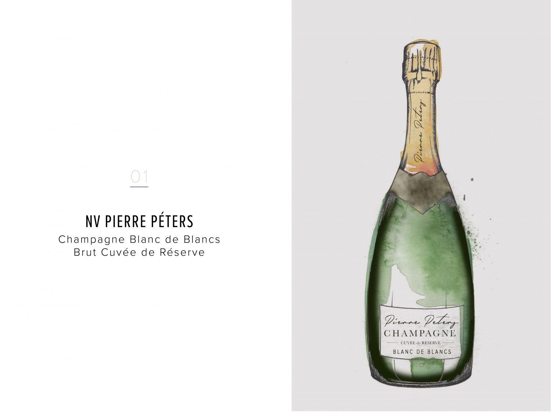 NV Pierre Péters Champagne Blanc de Blancs Brut Cuvée de Réserve
